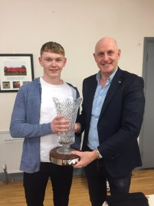 The Paddy Cremen Award – 2019 Winner