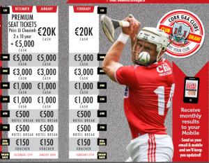 Cork Clubs Draw Winner