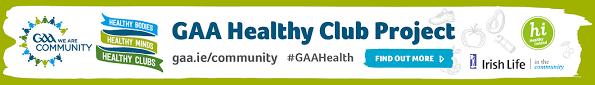 The GAA Recognises Blarney Healthy Club